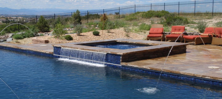 Denver Spa Waterfall Feature