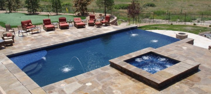Compare Costs of Pool and Spa Aerial View, Parker, CO