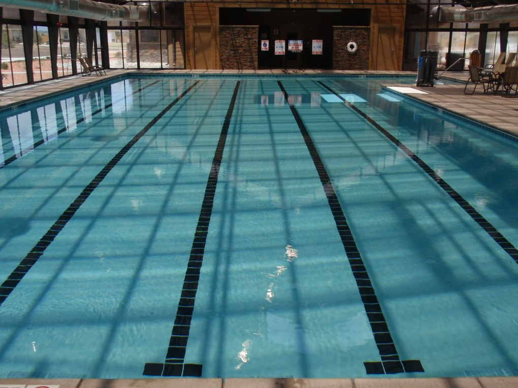 Swimming Pool at Shriever Air Force Base, Colorado Springs, CO