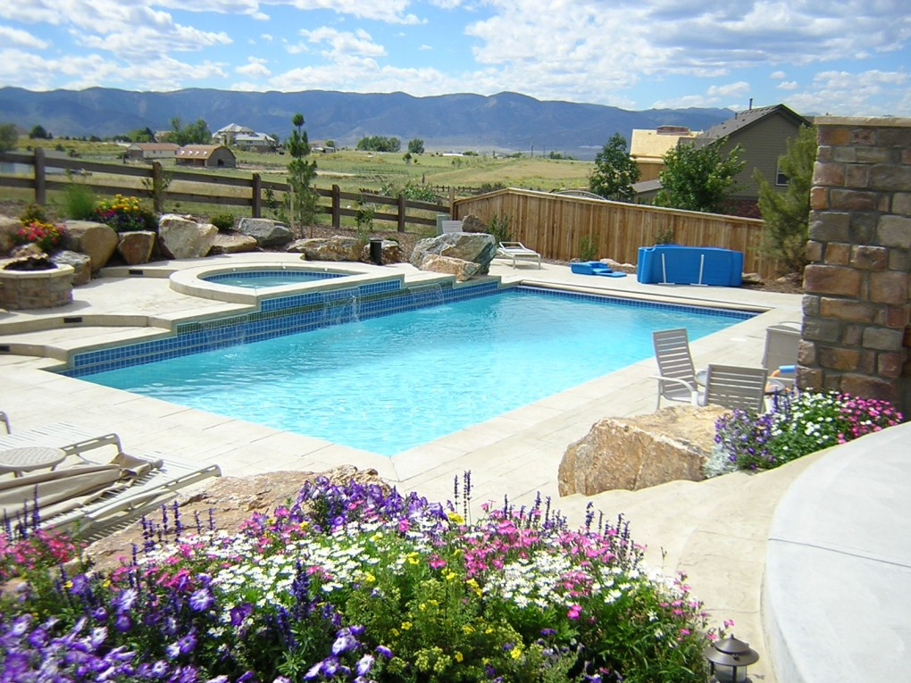 Pool and Spa, Highlands Ranch, CO