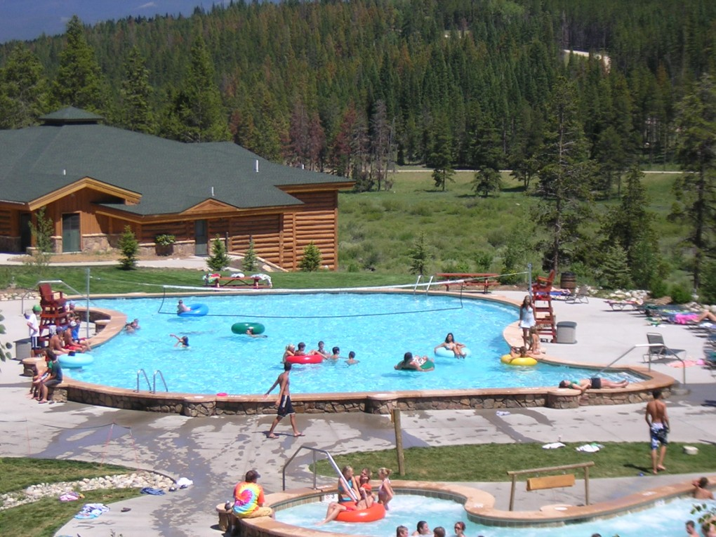 Swimming Pool at Crooked Creek, Winter Park, CO