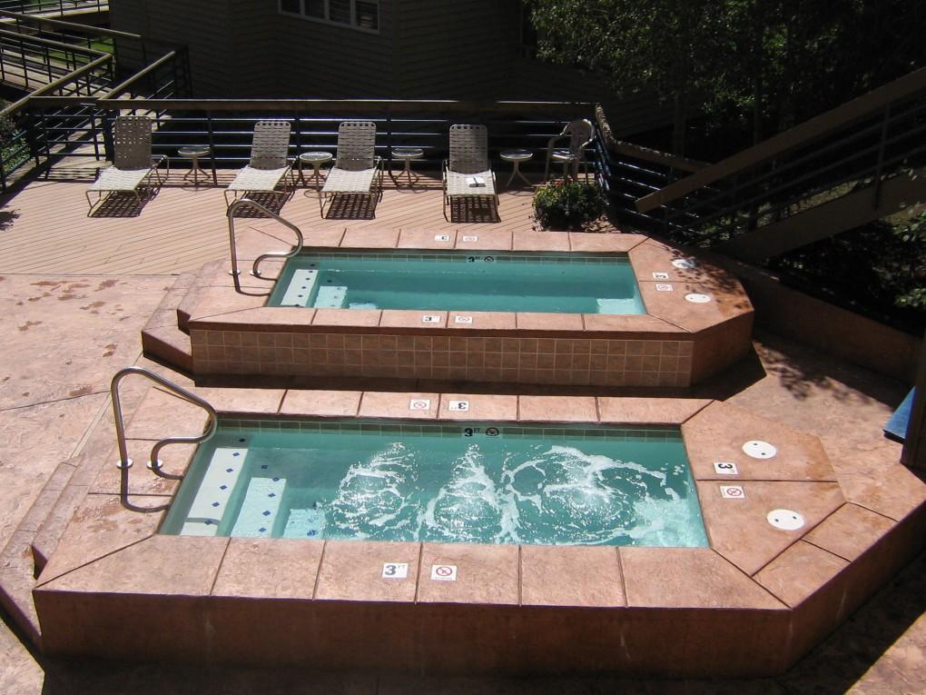 Spas at Iron Horse Resort,Winter Park, CO