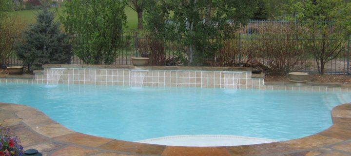 Vinyl liner pool replacement Free Form Pool, Arvada, CO