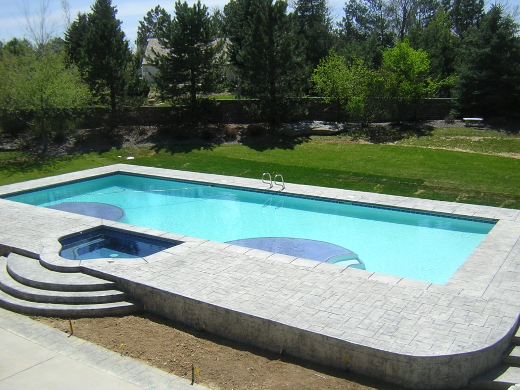 Pool and Spa, Greenwood Village, CO
