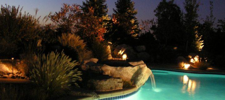 Swimming Pool design - Waterfall