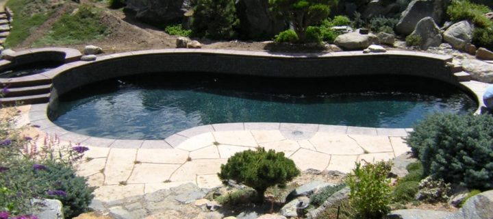 residential pool installation castle pines co