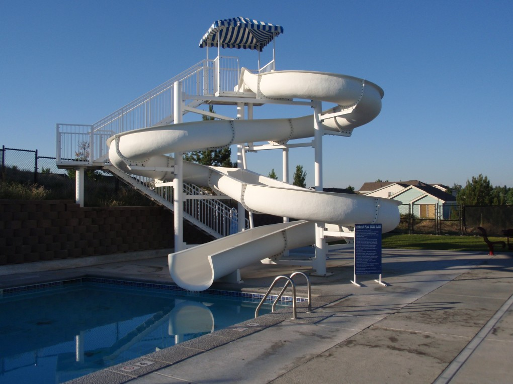 Slide at Look Out Park, City of Aurora Parks and Rec