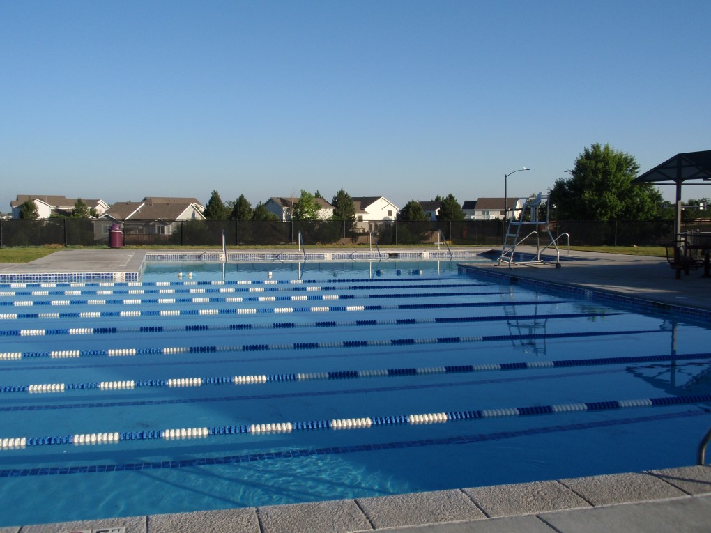 Swim Lanes at Look Out Park, City of Aurora Parks and Rec.