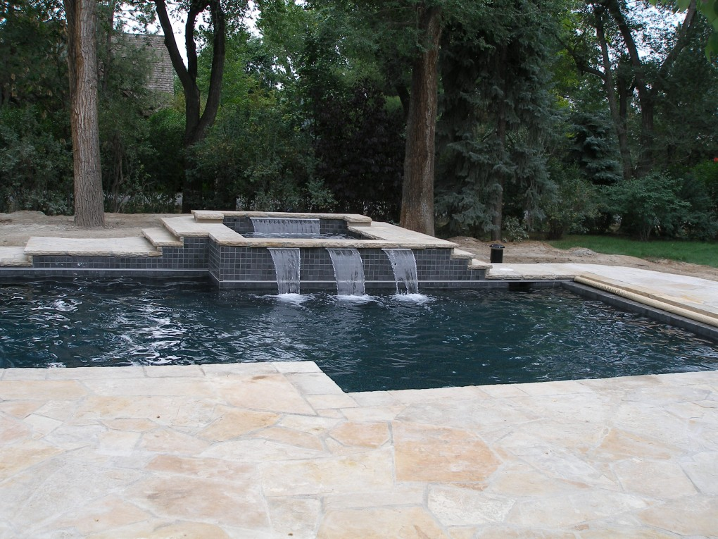 Pool and Spa Combo, Cherry Hills Village, CO