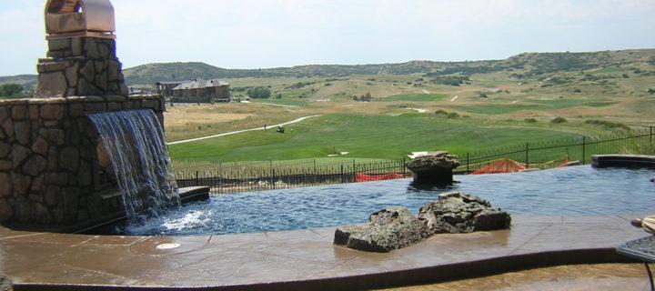 denver granite pool view