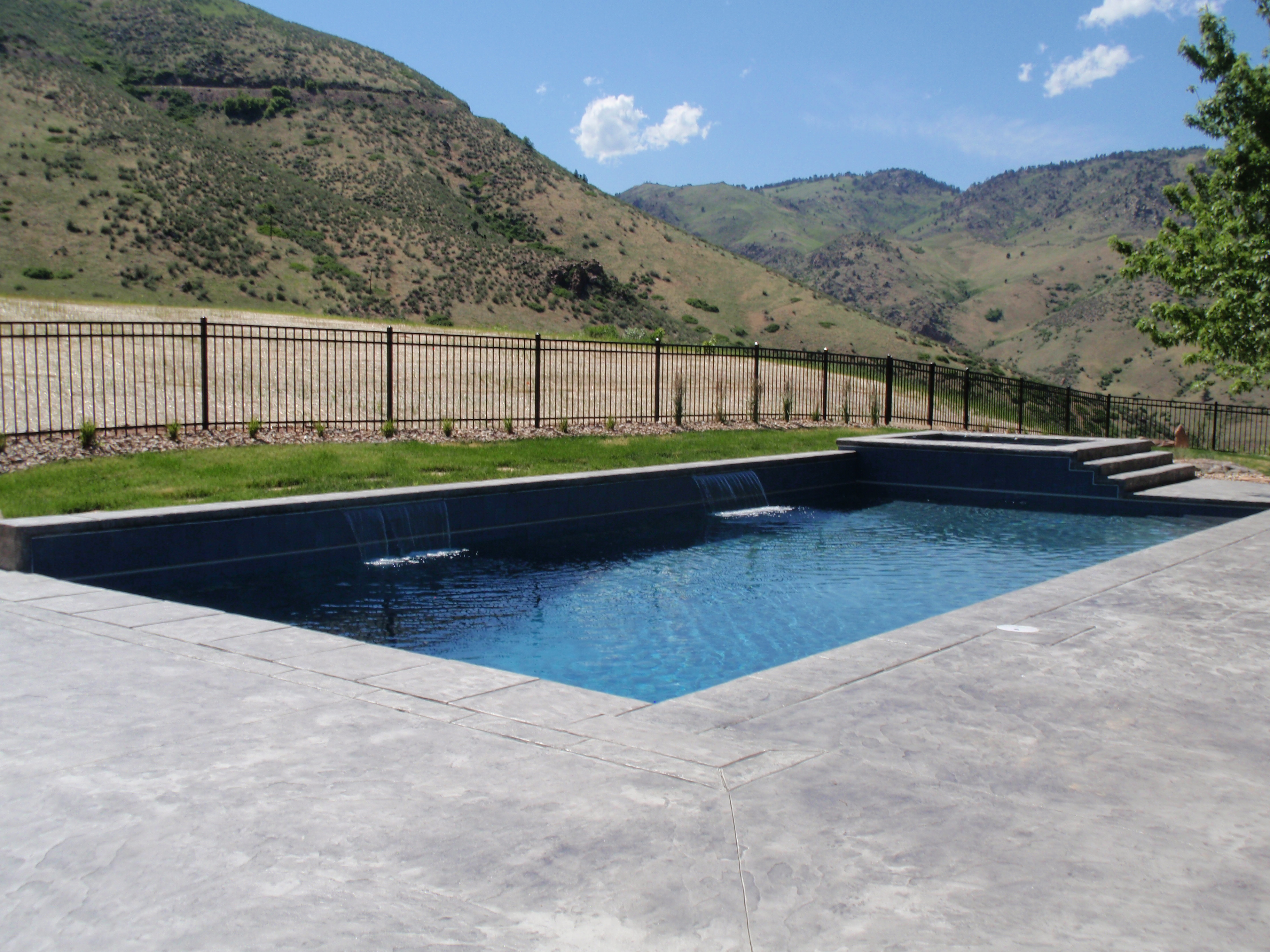 Swimming Pool And Spa In Golden, CO