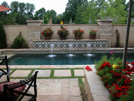 Custom Swimming Pool Built in Denver,  CO