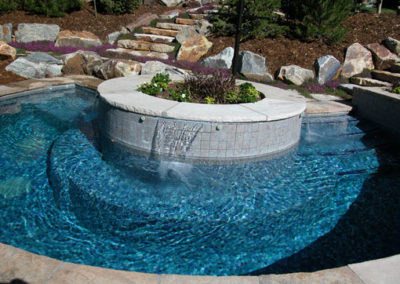 All Tile Spa - Veil Fall Water Features