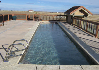 Lap Pool Built in Berthoud, CO