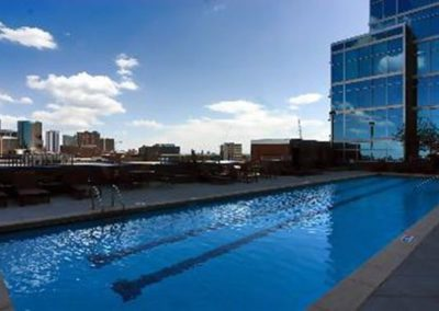 Roof Top Pool Denver, CO - Glasshouse