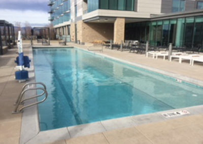 Rooftop Pool Country Club Towers - Denver, CO
