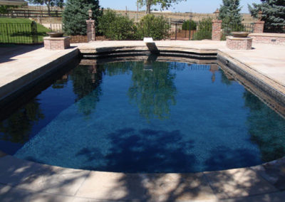Custom Black Plaster Swimming Pool - Boulder,  CO