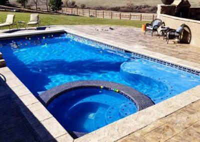 Spa-In-A-Pool Combo - Sedalia, CO
