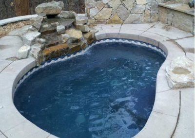 Custom Built Spa With Waterfall - Castle Rock,  CO